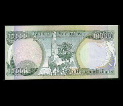 10,000 Iraqi Iraq Dinar + Free  20,000 Vietnam Dong UNC Banknote Set 10000 20000 4