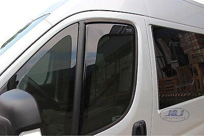 FIAT DUCATO 2 Portes 2014-prés  Deflecteurs d'air Déflecteurs de vent 2pcs 2