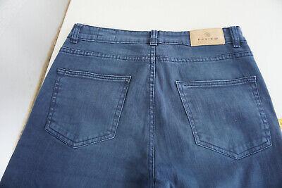 Review Jeans Donna Skinny Pantaloni Stretch Gr.30 32/32 W32 L32 Blu Scuro Top # 2