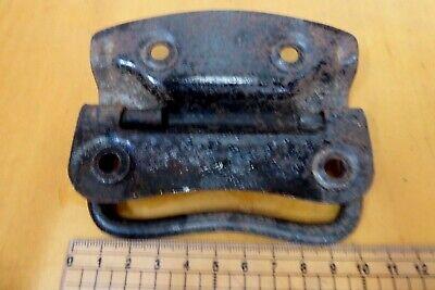 Vintage / Antique Steel Cast Metal Chest Trunk Drawer Handle 6