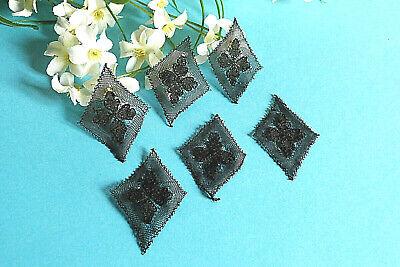 "752B Splendid Delicate Inlay Lace Tapered Thread Silk "" Jasmine "" Art New 2"