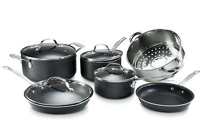 Granite Rock 15 Piece Nonstick Ultra Durable Complete Cookware and Utensil Set! 2