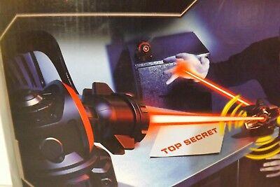 New Spin Master Spy Gear Lazer Defense System Invisible Beam Intruder Alarm BNIB
