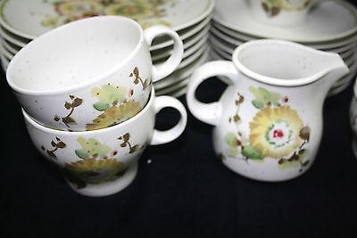 Hutschenreuther Arzberg Kaffeeservice Blumendekor 24 Teile Coffee Service