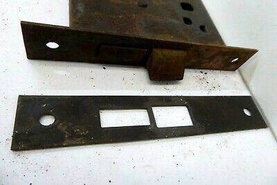 Antique Morticed Door  Lock  And Keep 2