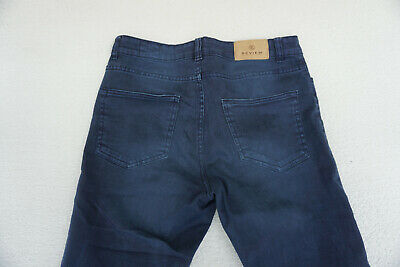 Review Jeans Donna Skinny Pantaloni Stretch Gr.30 32/32 W32 L32 Blu Scuro Top # 6
