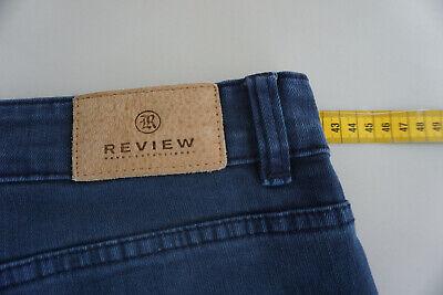 Review Jeans Donna Skinny Pantaloni Stretch Gr.30 32/32 W32 L32 Blu Scuro Top # 12