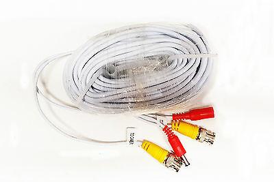 Swann Original HD CCTV Cable 45m BNC Video /& Power Tidy Shotgun Black 145ft