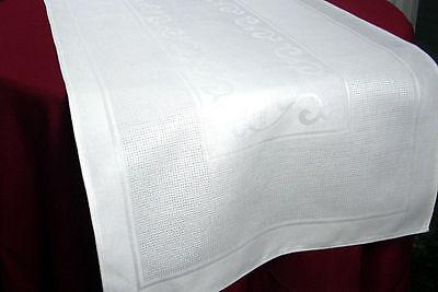 Serviette 40x40 cm zum Besticken Fb.Elfenbein KREUZSTICH Sticken