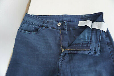 Review Jeans Donna Skinny Pantaloni Stretch Gr.30 32/32 W32 L32 Blu Scuro Top # 10