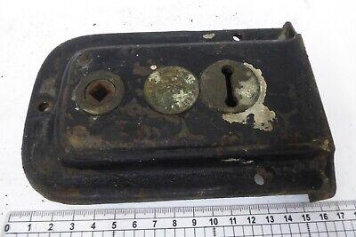 Antique Ht&V Vaughan For Jas Mcewan Cresham Door Rim Lock - Victorian 4