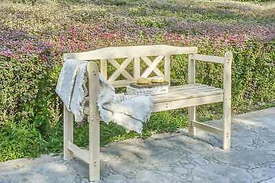 WestWood Outdoor Home 2 Seat Seater Wooden Garden Bench wood Patio Park 5