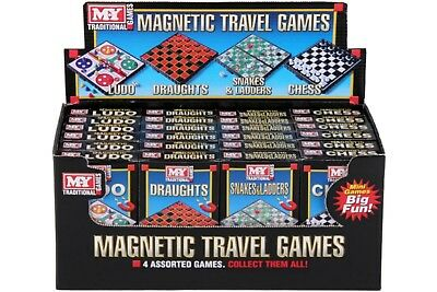 Mini Magnetic Travel Board Games - Chess , Ludo , Snakes and Ladders,  Draughts 8