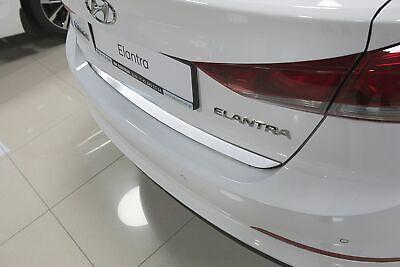 Heckklappe Leiste aus Edelstahl V2A Poliert für Kia Picanto III 2017