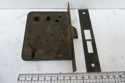 Antique Morticed Door  Lock  And Keep 3