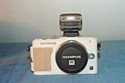 Olympus E-PL5 corpo+ob 14.42+flash+mirino  VF 2 2