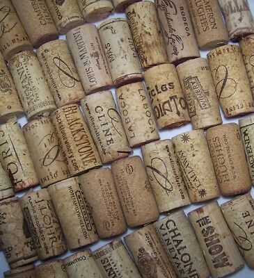 Natural Used Wine Corks Lot of 5 10 20 30 50 100 Variety Recycle Upcycle Wedding