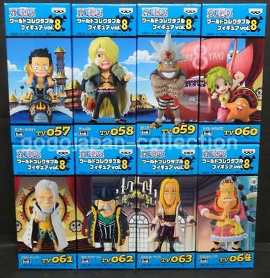 Jump 50th WCF World Collectable Figure vol.8 Full Set of 5 F//S w//Tracking# Japan