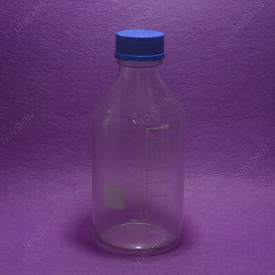 1000mL Reagent bottle with cap autoclavable, heavy wall,lab glassware 3