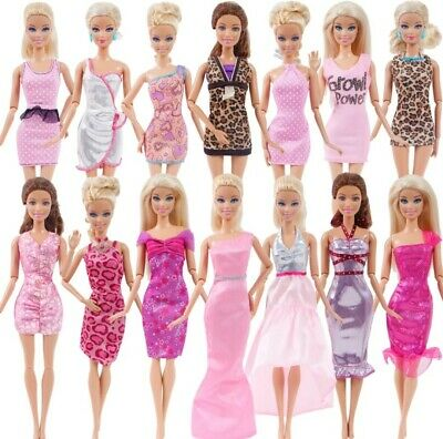 Barbie Doll 5 sets of new clothes dresses good quality picked at random 6
