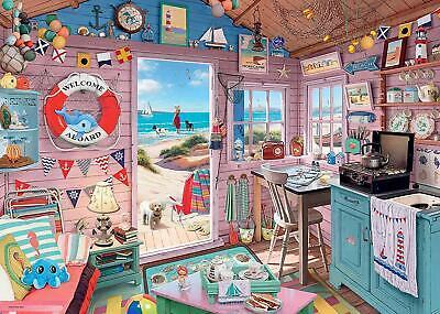 Ravensburger Puzzle*1000 Teile*My Haven 7*The Beach Hut*Rarität*Neu+Ovp 2