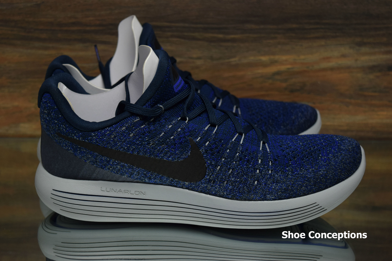 8a6d2ca4e22 Nike Lunarepic Low Flyknit 2 College Navy 863779-406 Running Shoes Mens  Multi Sz 5 5 of 8 See More