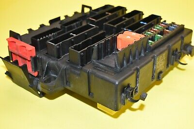 03 04 05 06 07 SAAB 9-3 93 Fuse Box Relay Box Rear Trunk OEM 5