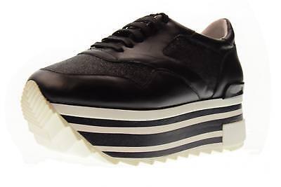 Dettagli su Altraofficina scarpe donna sneakers con piattaforma Q1800X BIANCOARGENTO P18