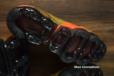Nike Air Vapormax Flyknit 2 Running Shoes Golden Beige 942842-203 Men's NEW 7