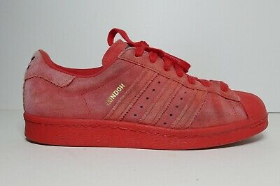 ADIDAS SUPERSTAR 80'S City Series London Trainers Size UK6