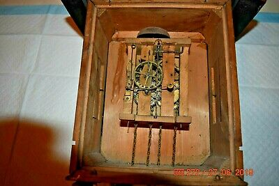 Antique/Vintage Mantle Cuckoo clock for project or parts 3