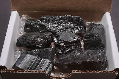 Tourmaline Collection 1/2 Lb Natural Black Schorl Gemstone Crystals Specimens 3