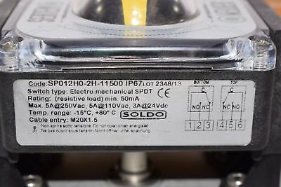 NEW ACTUATECH Pneumatic Actuator GS30-F05F07, SOLDO Limit Switch
