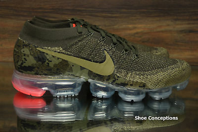 "Nike Air Vapormax Flyknit C Running Shoes ""Camo"" AH8447-201 Men's Multi Size"