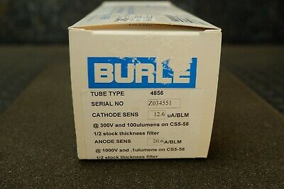 Burle RCA Photomultiplier Tube, Type 4856, 14 Pin, PMT - New 5