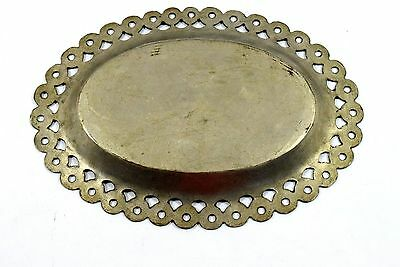 Rare Antique Islamic Mughal Brass Beautiful Hand Crafted Calligraphy plate.G3-30 4