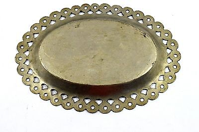 Rare Antique Islamic Mughal Brass Beautiful Religious Calligraphy plate.G3-30 US 4
