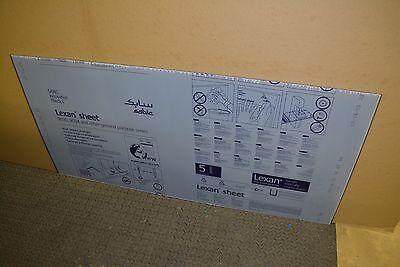 "Tinted Smoked Lexan Sheet 1//8/"" x 24/"" x 16/"" Solar Gray color #130 Polycarbonate"