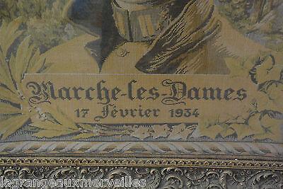 Ancienne toile de Marche Les Dames 17 Février 1934