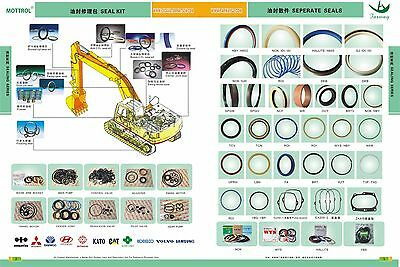 AH173444 Dipper Stick Arm Cylinder Seal Kit Fits John Deere 200C LC 200CLC 5