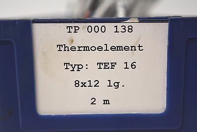 Thermo-Element | Typ: TEF 16 | 2m