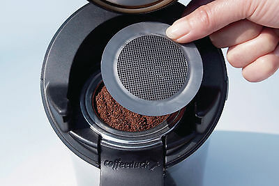 Coffeeduck für Senseo classic HD7810 HD7812 Padhalter Pad Kaffeefilter Filter 5