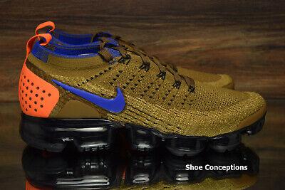 Nike Air Vapormax Flyknit 2 Running Shoes Golden Beige 942842-203 Men's NEW 4