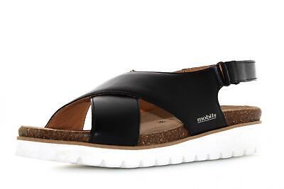 Mephisto scarpe donna sandali TERIE NERO P20