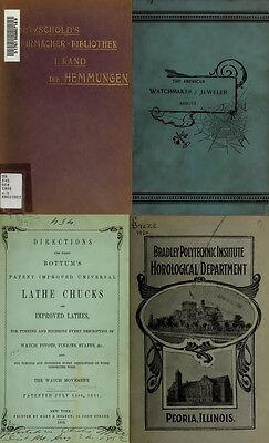 125 Rare Books On Horology, Pocket Watch, Clock, Sundial, Repair & More-Vol1 Dvd 2