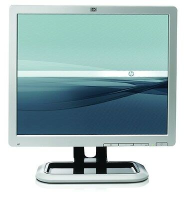 """HP 17"""" LCD TFT HD MONITOR MIX L1750 L1706 1710 1740 etc FOR HOME OFFICE PC CCTV 4"""