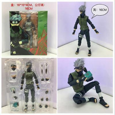 S.H.Figuarts Naruto Shippuden Hatake Kakashi Action PVC Figure Toy Gift New 5