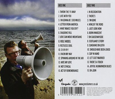THE PROCLAIMERS THE VERY BEST OF...25 YEARS...1987-2012  2CD SET (Greatest Hits) 2