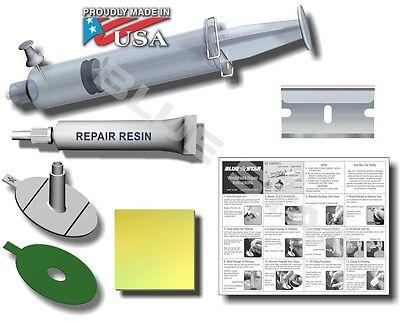 Windshield Repair Kit (2Pack) Stone Damage Chip Bullseye Rock Chip Model # 777 2