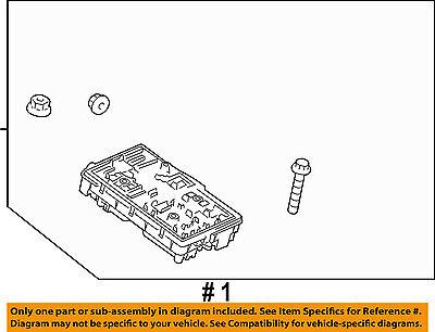 Chevrolet GM OEM 11-14 Cruze 1.4L-L4-Fuse Box-Fuse & Relay Box 95442176 2